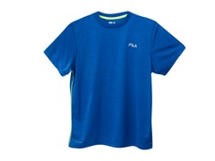 Fila Heathered Bright Tee - Royal Blue