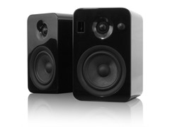 YUMI Speakers w/Bluetooth - Gloss Black