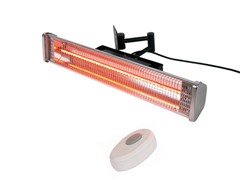 Wall Mounted Electric Heater with Remote