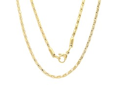 18kt Gold Plated Round Necklace Chain