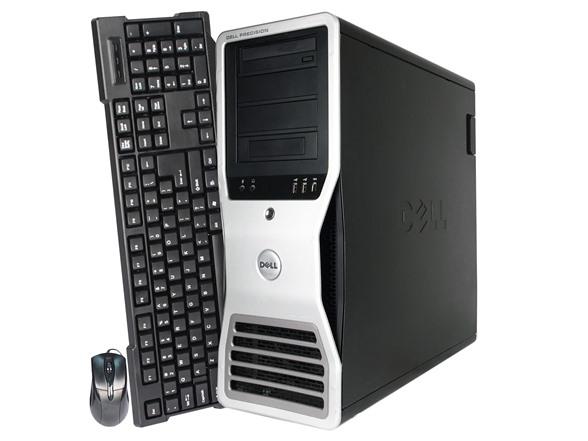 Dell T7400 Intel Xeon Quad-Core Workstation