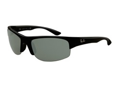 Wraparound Sunglasses, Black Acetate