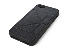 Case w/Stand for iPhone 5 - Black/Black