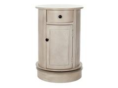 Tabitha Oval Cabinet - Grey