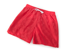 Youth Solid Red Shorts (L)