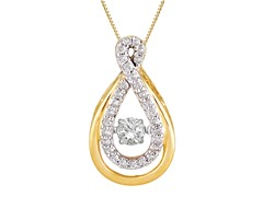 "ZKS Designs ""Dancing"" Diamond Double Tear Drop Shape"
