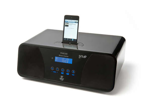 ipod iphone alarm clock radio. Black Bedroom Furniture Sets. Home Design Ideas