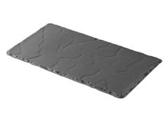 """Basalt Rectangular Plate 11.75"""" x 6.2"""""""