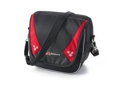 Metro Handlebar Bag - Black/Red