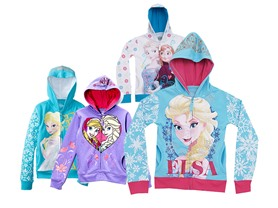 Disney Frozen Girls Hoodies (4-6X)