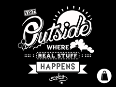 Visit Outside Tote