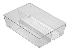 InterDesign 8x12x3 Twin Drawer Organizer