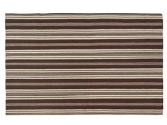 Farmhouse Stripes - Mocha - 4 Sizes