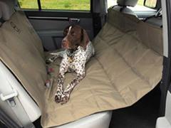 Hammock Car Seat Pet Protector Tan