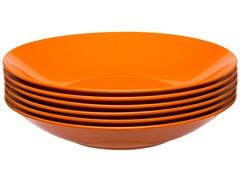 "Ella Bowl 8.25"" - Set of 6 - Orange"