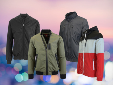 Spire by Galaxy Men's Lightweight Jackets