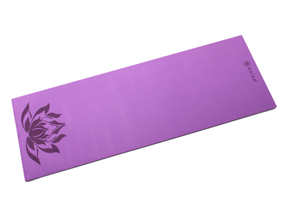 limpid in sight newest selection 100% satisfaction Lotus Print Yoga Mat, 5mm
