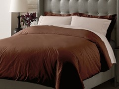 Hotel Duvet Cover Set-Chocolate-3 Sizes