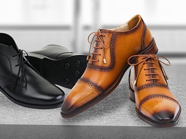 Lethato Men's Leather Shoes