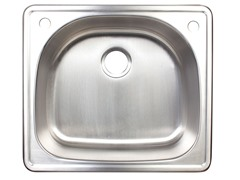 Top Mount Bar Sink, Stainless Steel
