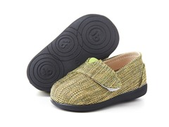 Squeaky Shoe - Sam, Sage Tweed (3-8)