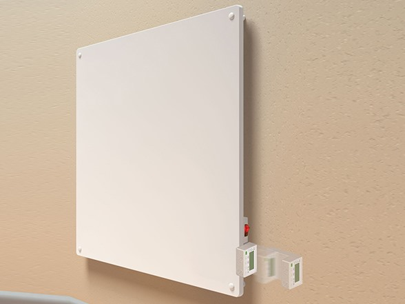 Econo Heat 400w Panel Heater W Programmable Thermostat