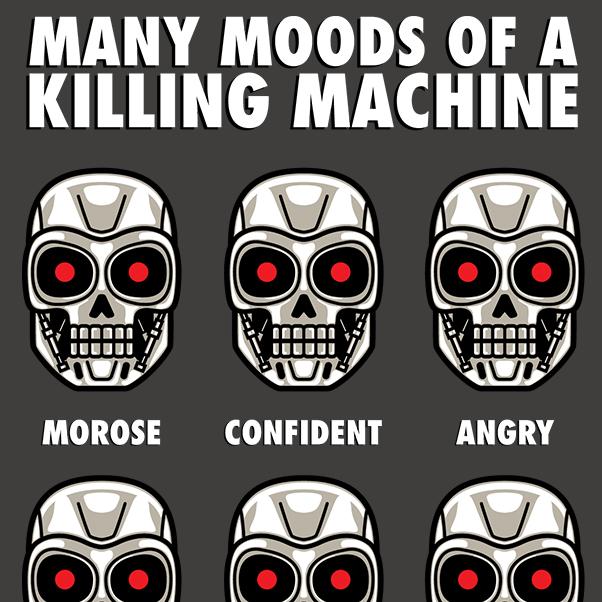 Many Moods Of A Killing Machine
