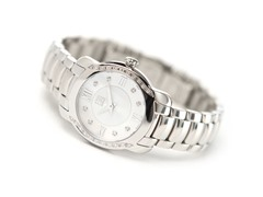 Ladies ESQ Verona Silver Dial Watch