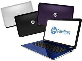 "HP Pavilion 15"" or 17"" Quad-Core Laptops"