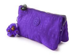 Kipling Creativity Small Pouch, Neon Purple