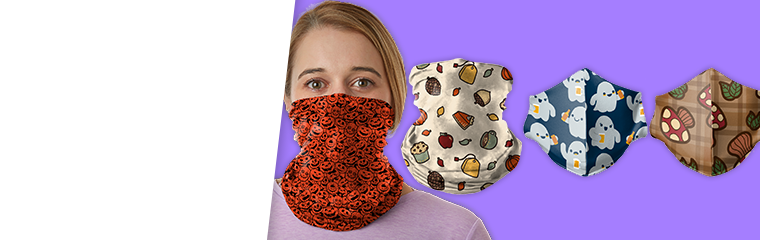 Fall Masks and Gaiters For Your Face
