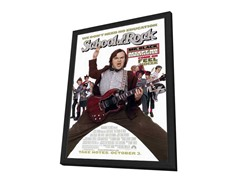 School of Rock 27x40 Framed
