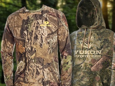Camo Print Outdoor Stuff and Apparel