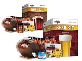 Mr. Beer Home Brewing Beer Kit - 2 Styles