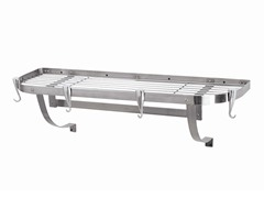 "Large Wall Mounted Rack - Stainless Steel  39"" x 13"""