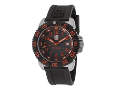 Luminox Men's Black Textured Watch