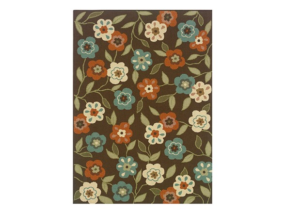 Monte Carlo Floral Rug Multiple Sizes