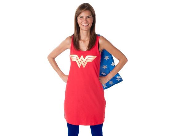 Wonder Woman Sleep Tank With Cape-8032
