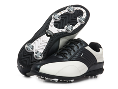 Corina Golf Shoes, White/Black