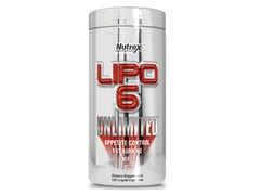 Nutrex Research Lipo 6 Unlimited 120ct