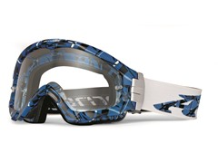 Series 3 MX Goggles Plaid, True Blue