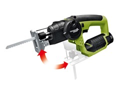 Trans4mer 2-in-1 Jigsaw & Recip-Style Saw