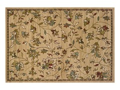 Addison Area Rug Gold Floral - 5 Sizes