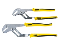 Stanley 2-Piece Groove Joint Plier Set