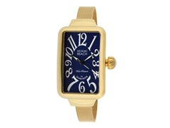Gold Ion Plated Rectangle Watch