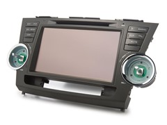 Toyota Highlander 2007-11 Direct Fit Multimedia+Navi