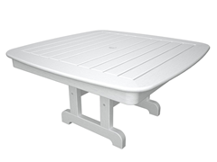 Nautical Conversation Table, White