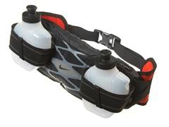 2 Bottle Waistpack - Black/Gray/Red