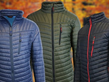 Spire by Galaxy Men's Puffer Jackets
