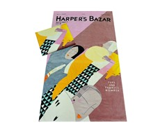 Harper's Bazaar - Furs & Fabrics Towel